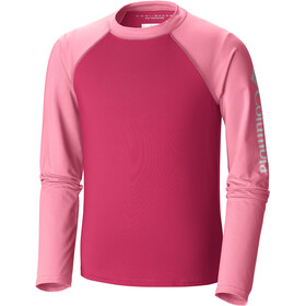 Columbia Mini Breaker LS Sunguard Top Girls, punch pink/lollipop